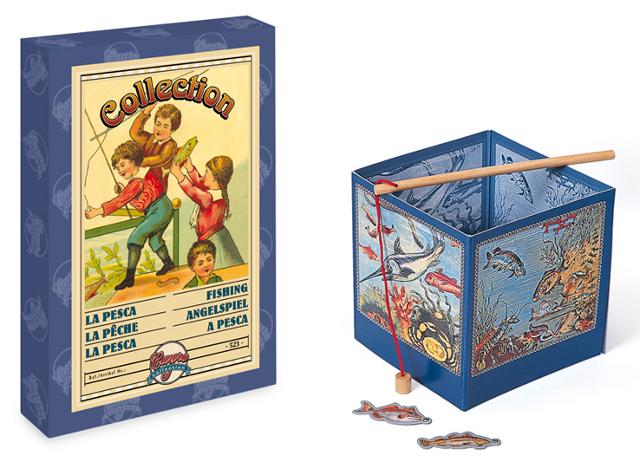 Juego de pesca clásico - Edición clásica del juego imantado de pesca