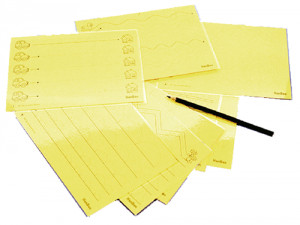 Prewriting kit - Prewriting kit with 10 reusable laminated cards