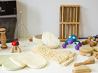 Kit sensorial masaje - Conjunto de piezas de masaje para estimulación sensorial