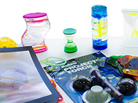 Kit sensorial efectos visuales - Conjunto de piezas de efectos visuales para estimulación sensorial
