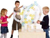 Laberinto de bolas gigante - Construcción de laberinto con tubos
