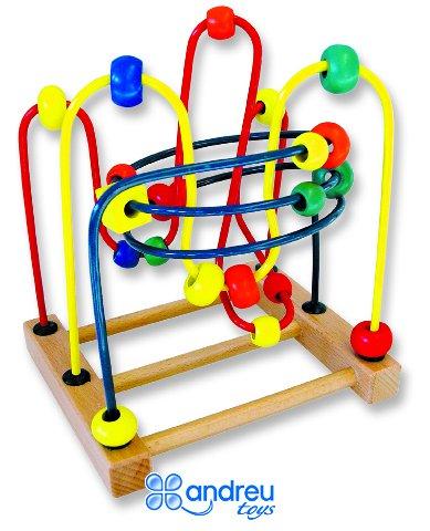 Laberinto formas pequeño - Juego de manipulación. Percepción de formas, números y colores.