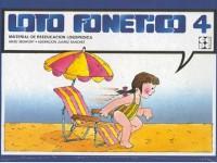 Loto Fonético 4 - Loto de láminas para reeducación fonética