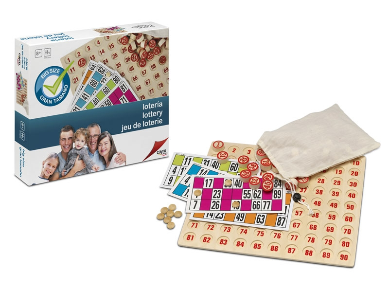 Lotería XXL - Bingo con un tamaño extragrande
