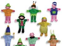 Set 9 marionetas dedo - Marionetas de los cuentos más famosos
