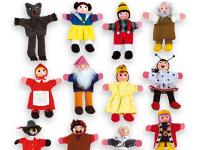 Set 12 marionetas dedo - Conjunto de 12 marionetas de los cuentos más famosos