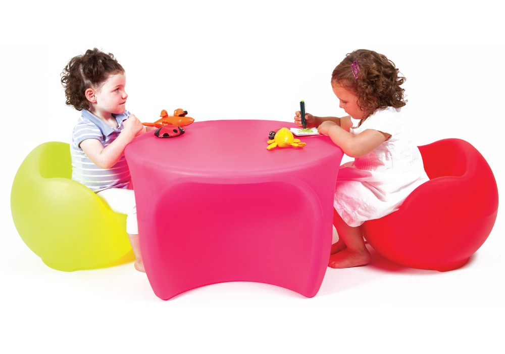 Mesa Esfera - Divertida y práctica mesa infantil