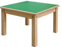 Mesa cuadrada - Mesa de madera 60 x 60 cm