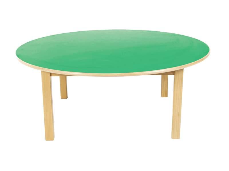 mesa redonda mesa de madera de 120 cm - Mesa Redonda Madera