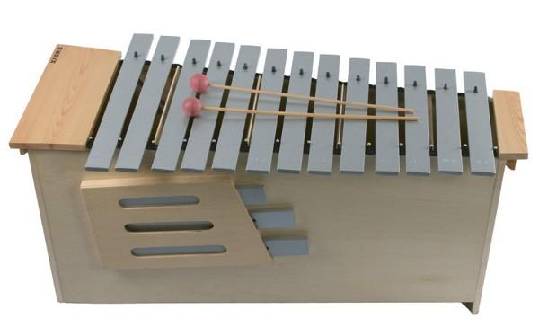 Metalófono Do1 a La2 - Melófono con notas de Do-1 a La-2