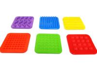 Minicirculto de estimulación táctil  - 10 discos de texturas