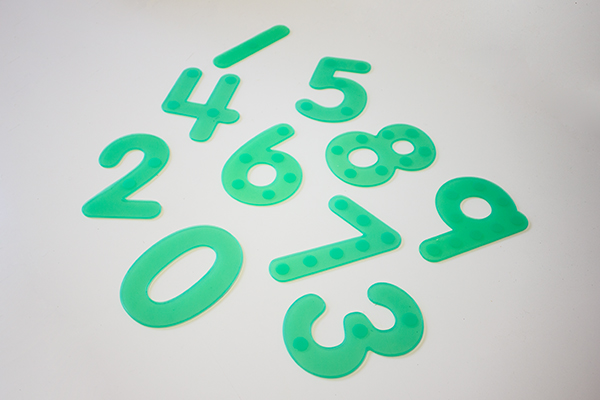 Silishapes trace numbers - Silicon trace numbers