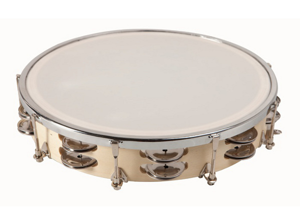 Tambourine of 25 cm - Tambourine with double cymbals