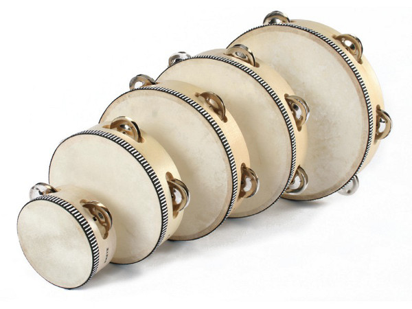 Tambourine 10 cm - Tambourine with diameter of 10cm