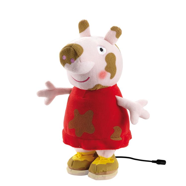 Peppa Pig Saltarina Adaptada - Acceso con conmutador para nuestra cerdita favorita