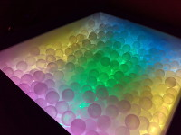 Eneso Sense Interactive ball pool - Interactive ball pool with lights and vibration