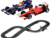 Circuito de carreras adaptado - Pista de coches para manejar con conmutador
