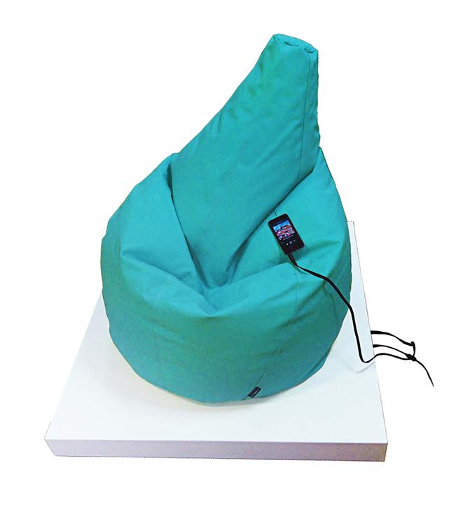 Plataforma vibroacústica más Puff - Incluye comodo puff para disfrutar de la experiencia