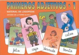 Primeros Adjetivos 1 - Material de comprensión virtual, asociación visual y integración gramatical