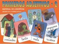 Primeros Adjetivos 2 - Material de comprensión virtual, asociación visual y integración gramatical