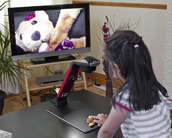 Prisma HD - Lupa digital de alta definición con conexión HDMI