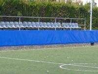 Protección pared exterior - Resistente acolchado para exterior