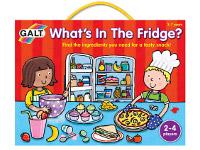 ¿Qué hay en el frigorífico? - Divertido juego de memoria