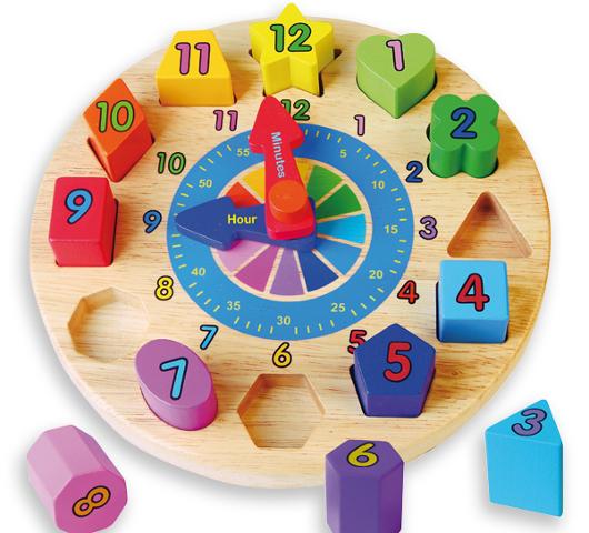 Reloj infantil - Con piezas encajables