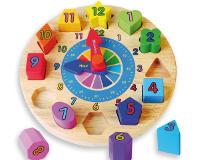 Reloj infantil  - Con piezas encajables.