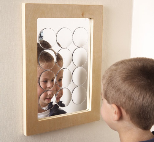 Mirror frames - Includes convex, concave and a multi-circle mirrors
