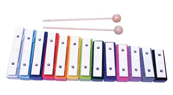 Set iniciación música - Set con carrillón, partituras, pizarra y accesorios
