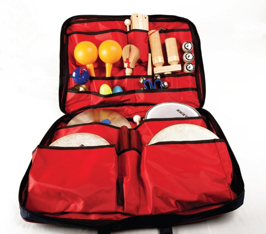Big percussion set - Set of percussion instruments