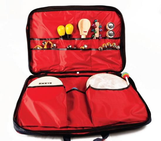 Set percusión pequeño - Conjunto de instrumentos de percusión