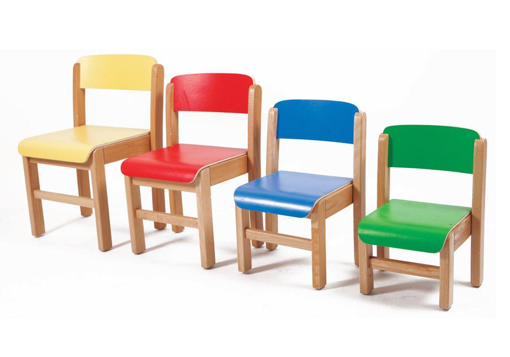 Silla infantil madera - Diseño y robustez