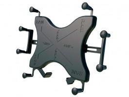 Sistema de montaje universal para tablet 12p X-Grip - Brazo articulado con pinza y soporte para tablet de 12