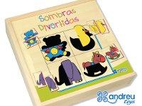 Sombras divertidas - Aprende percepción y lenguaje expresivo
