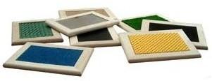 Tableros táctiles - Tableros de texturas de 12 x 16 cm