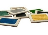 Set of tacile boards - 12 x 16 cm texture boards