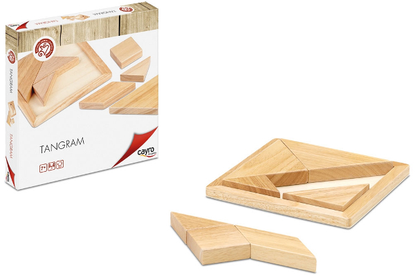 Tangram - Create hundreds of figures. Wooden made