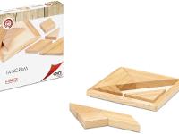 Tangram - Crea cientos de figuras. Fabricado en madera