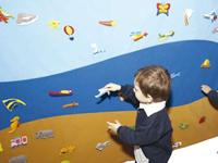 Tapiz tierra mar y aire - Un mundo para interactuar