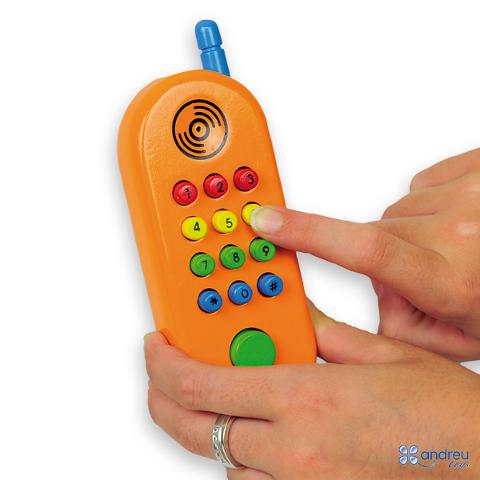 Teléfono móvil infantil - Divertido teléfono móvil de colores