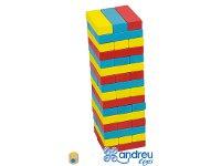 Torre de colores - Saca de la torre piezas del color correspondiente