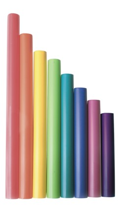 Major chromatic scale tubes - Set of 5 musical tubes