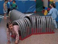 Túnel de adaptación con arcos flexibles - 7 piezas rectagulares, 4 curvas, 1 triangular y 51 arcos