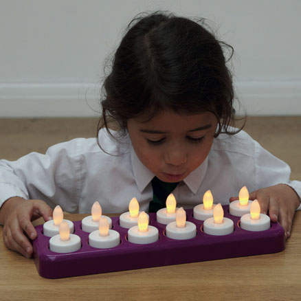 Clever candles - The perfect alternative to real candles in school