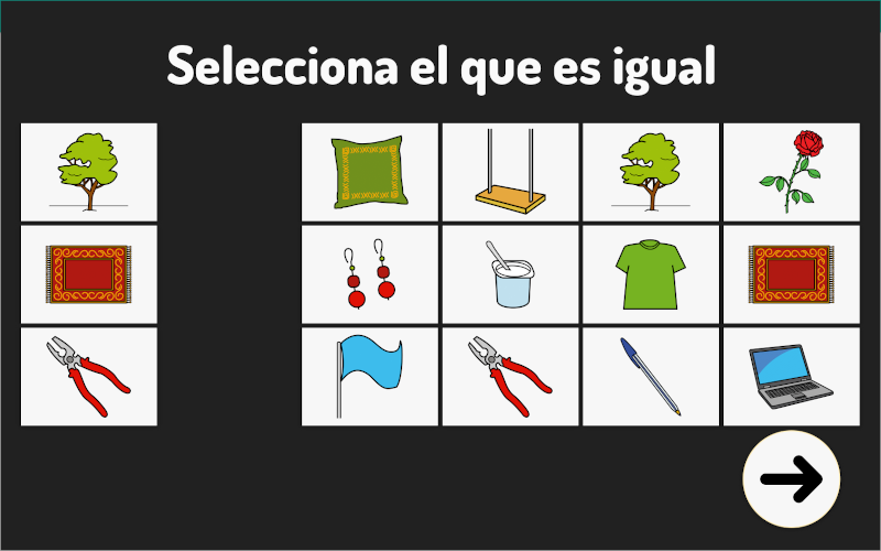 Select the equal
