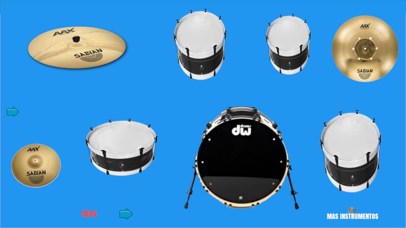 Mario's drum set