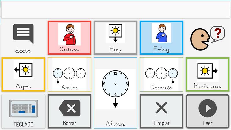 Communication board for children