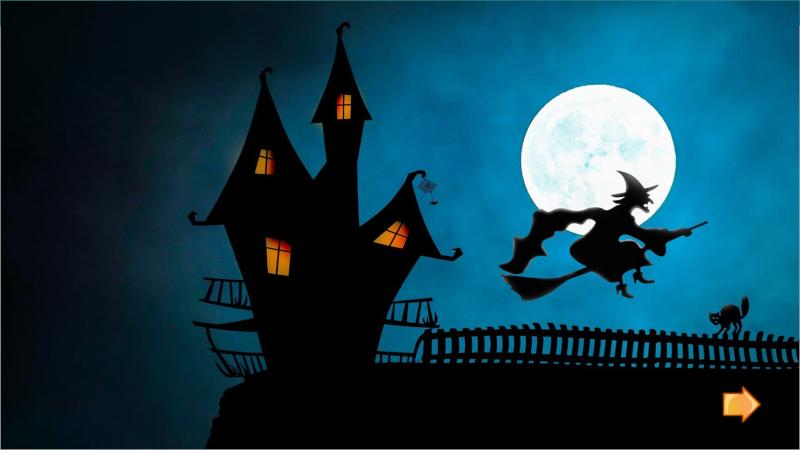 Escenas de Halloween